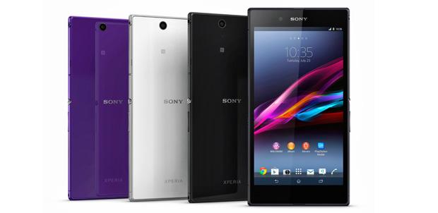 Xperia Z Ultra el más poderoso de Sony