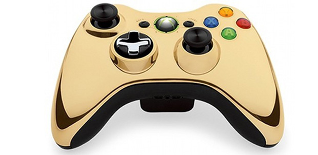 El control dorado de Xbox 360 saldrá pronto