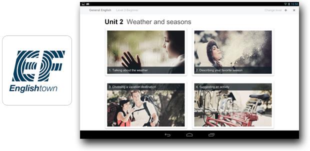 Clases de EF Englishtown en tu Android