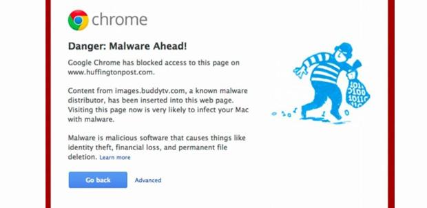 ¡Cuidado! sitios de Internet con malware