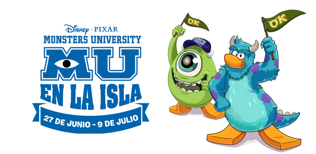Monsters University llega a Club Penguin
