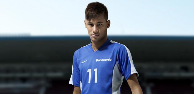 Neymar Jr renueva contrato con Panasonic