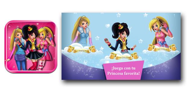 Las Princesas Teen saltan por los aires