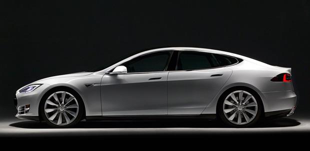 Tesla Model S con energía de Panasonic