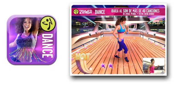 El juego Zumba Dance ahora en tu iPad
