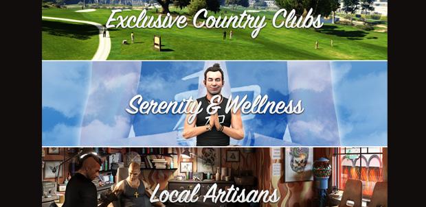 Las actividades de Los Santos en GTA V
