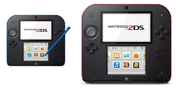 Nintendo presentó su nueva portátil 2DS
