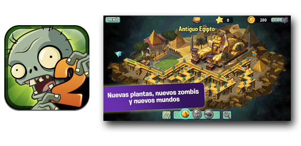 PopCap presenta Plants vs. Zombies 2