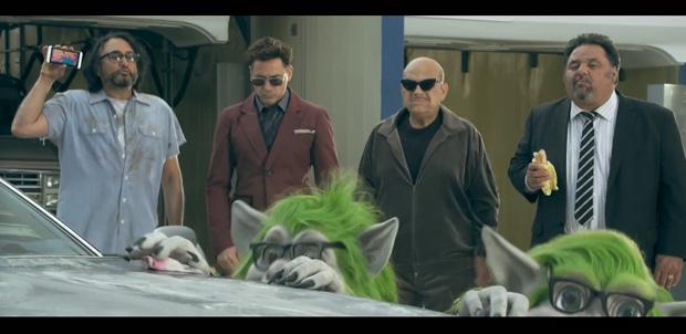 Robert Downey Jr. en el anuncio de HTC