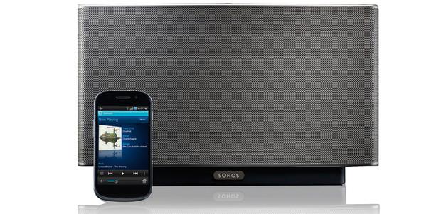 Google Play Music ya suena en equipos Sonos