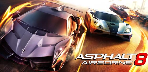 Asphalt 8 Airborne ya es todo un éxito