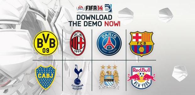 La demo de FIFA 14 ya está disponible