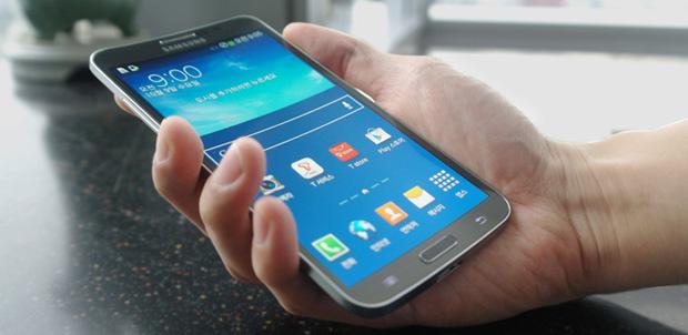 Galaxy Round, el smartphone curvo