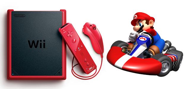 Wii mini llega a México con Mario Kart
