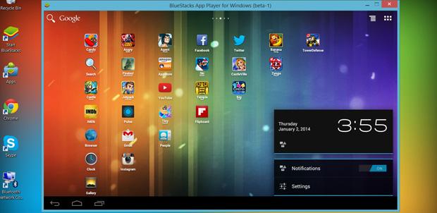 AMD y BlueStacks llevan Android a las PC