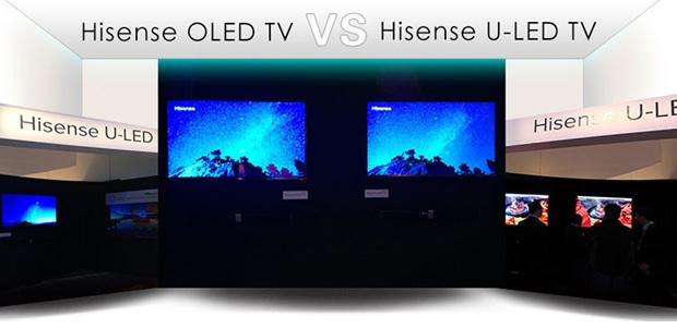 Hisense compite con OLED TV con ULED TV