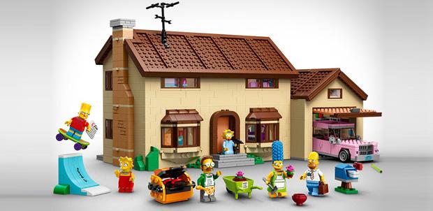 LEGO lanzará ediciones de Los Simpsons