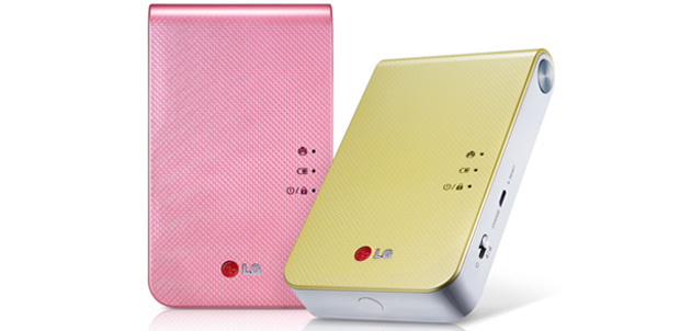 LG muestra Pocket Photo 2.0 en el CES 2014