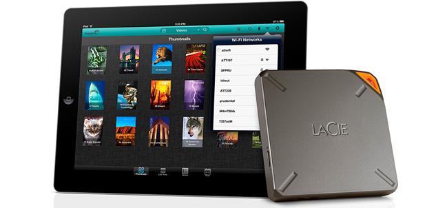 LaCie trae 1TB de capacidad para tu iPad