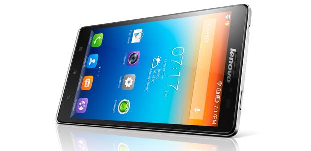Lenovo presentó cuatro nuevos smartphones