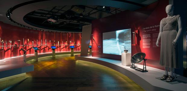 Panasonic da vida al museo Olímpico de Lausana