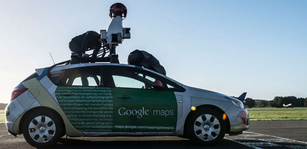 Street View se enfrentó al equipo de Top Gear
