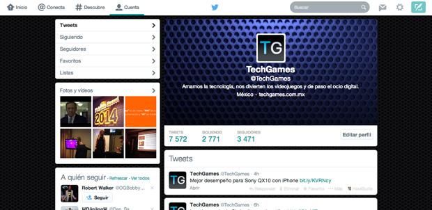 Twitter cambia el diseño de su sitio web