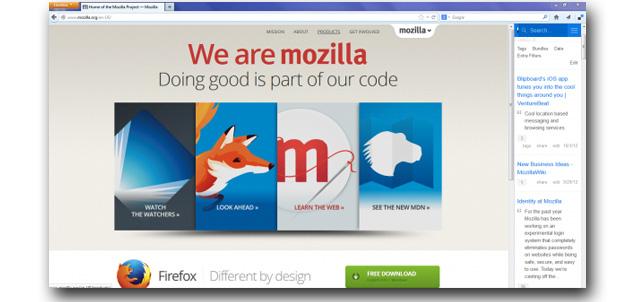 Mozilla con más socios sociales para Firefox