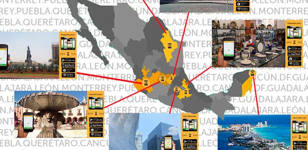 Easy Taxi llega a 5 ciudades más de México