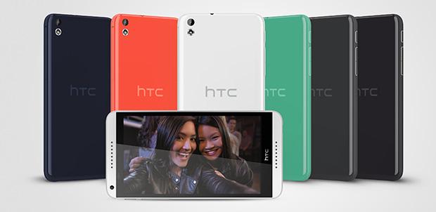 HTC presentó en MWC: Desire 816 y 610