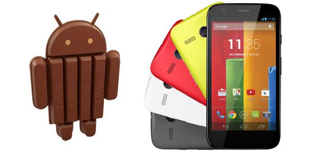 Android 4.4.2 ahora disponible para Moto X
