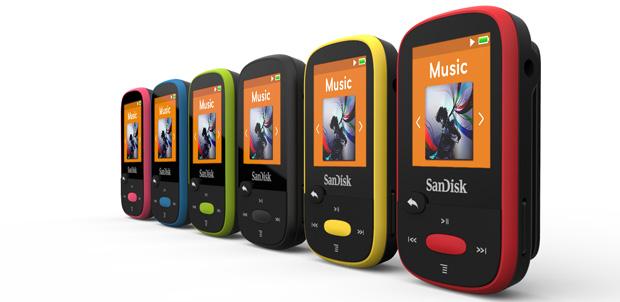 SanDisk Clip Sport le pone música al deporte