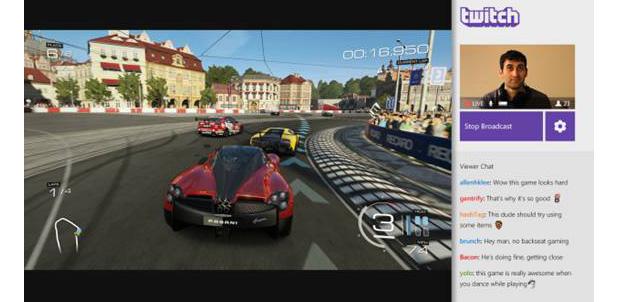 Comparte partidas diciendo: Xbox, Broadcast
