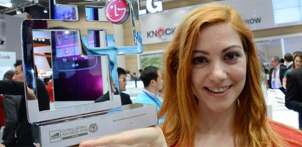 GSMA reconoce este año la innovación de LG