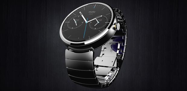 Moto 360 el reloj inteligente de Motorola