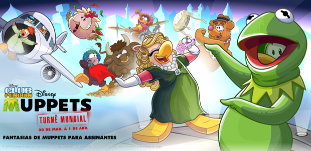 Los Muppets también invaden Club Penguin