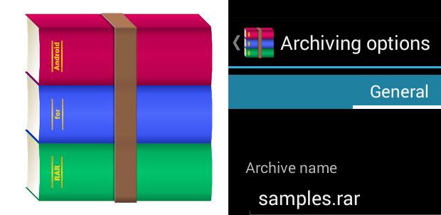Abre archivos RAR desde tu equipo Android