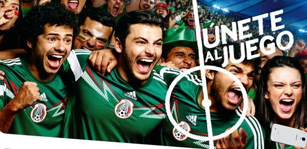 Samsung viste a la Selección Mexicana de fútbol