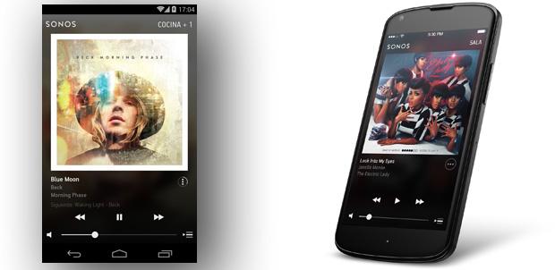 Sonos sigue mejorando su app para Android