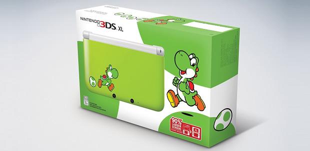 Nintendo 3DS XL edición Yoshi llegará pronto