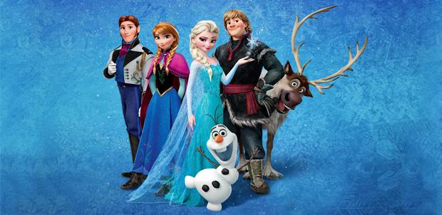 Frozen es la película animada más taquillera