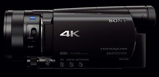 Handycam ahora puede grabar en calidad 4K