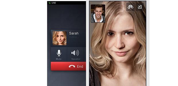Llama a tus amigos desde la aplicación de LINE