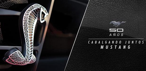 Cinco décadas del musculoso Ford Mustang