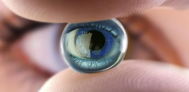 Visión nocturna para los lentes de contacto