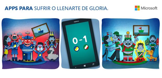 Vive el Mundial desde tu Nokia Lumia o Asha