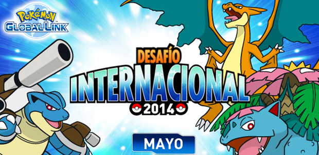 Entra al Desafío Internacional Pokémon
