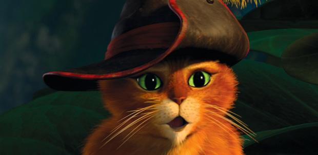 El Gato con Botas y El Rey Julien en Netflix