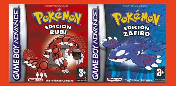 Regresan Pokémon Rubí Omega y Zafiro Alfa