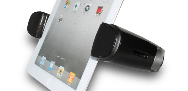 Sharper Image le da otro sonido a tu tablet